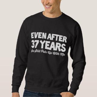 37th Anniversary Costume For Wife. Sweatshirt
