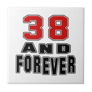 38 birthday designs tile