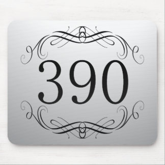 390 Area Code Mouse Pads