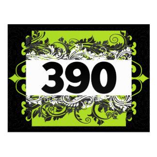 390 POSTCARDS