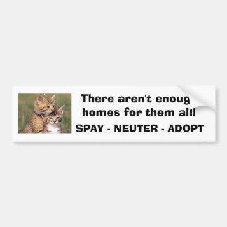 392324005_d000fde36f, There aren't enough homes... Bumper Sticker