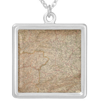 3940 Spain, Portugal ouest Silver Plated Necklace