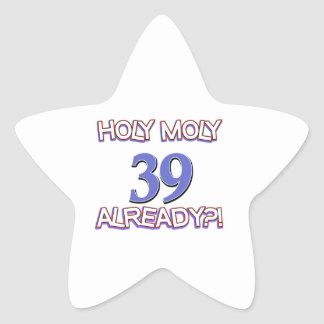 39 year old designs star stickers