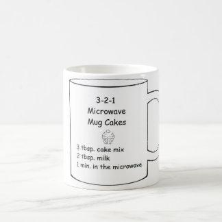3-2-1 Microwave Mug Cakes
