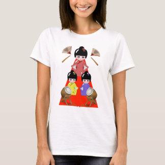 3-3  Hinamatsuri, Girls Day Japanese Doll Festival T-Shirt