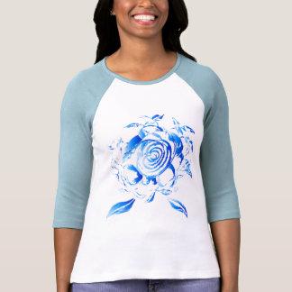 3/4 Hemd mit Rose Tees