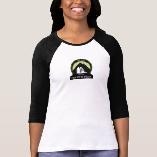 3/4 sleeve circle logo T-Shirt