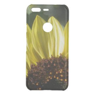 3/4 Sunflower Uncommon Google Pixel Case