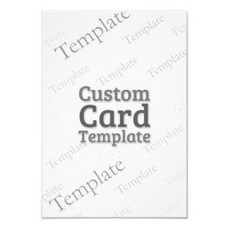 "3.5"" x 5"" Linen RSVP Invitation Custom Template"