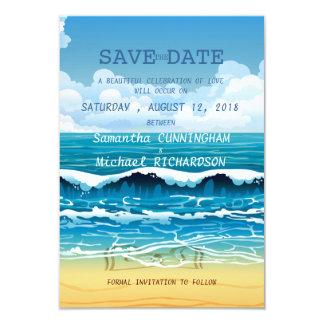 Ocean save the date invitations amp announcements zazzle com au