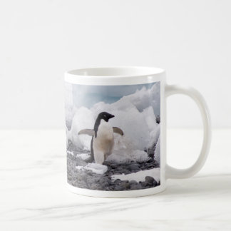 3 Adele Penguins Running Coffee Mug