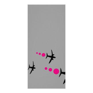 3 Aircrafts Rack Cards