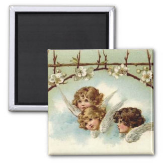 3 Angels Under Flower Arch - Magnet
