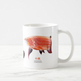 3 Asian Arowanas Coffee Mug