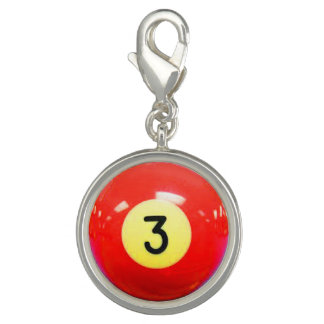 """3 Ball"" pool ball design jewelry set"