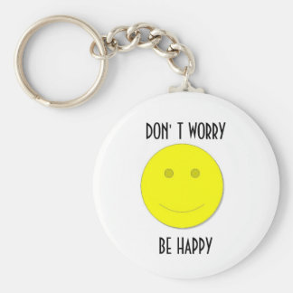 3, BE HAPPY, KEY RING