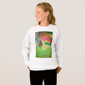 3 Bears Girls Sweatshirt
