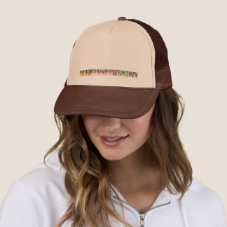 3 Beautiful Trout Skins Trucker Hat