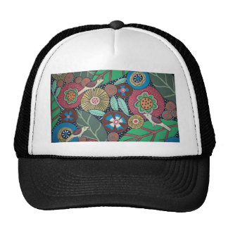 3 Bird Botanical Hats