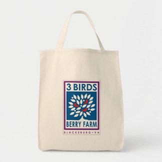 3 Birds Berry Farm Organic Tote