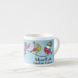 3 Birds on a Branch Espresso Mug
