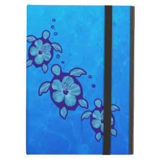 3 Blue Honu Turtles iPad Air Cover