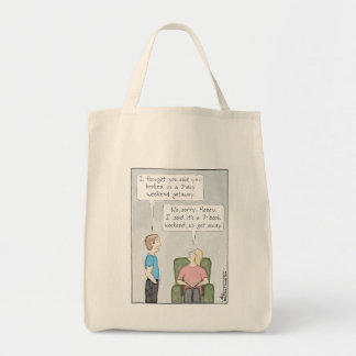 3-Book Weekend Tote Bag