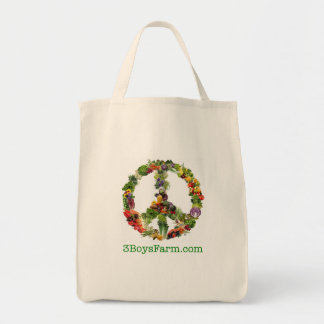 3 Boys Farm Organic cotton tote bag
