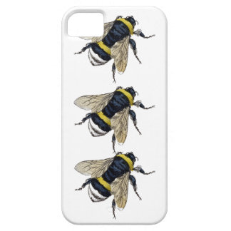 3 Bumble Bees Walking Be Unique Vintage Design Barely There iPhone 5 Case