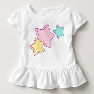 3 colorful stars toddler T-Shirt