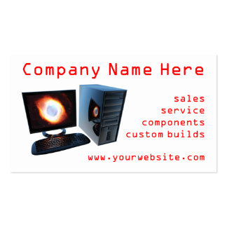 #3 Computer store business cards
