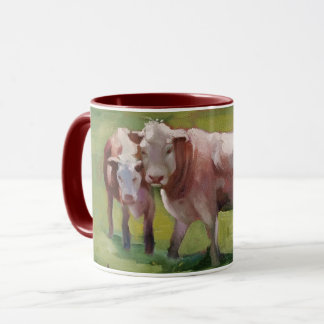 3 Cows in a Landscape Mug