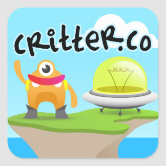 "3"" Critter.Co Sticker (sheet of 6)"