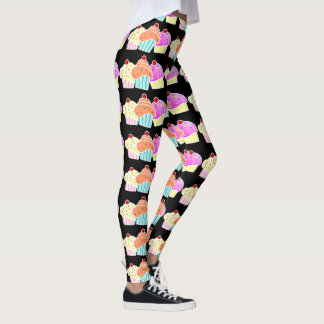 3 cupcakes leggings