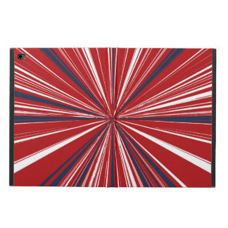 3-D explosion in Patriotic Colors