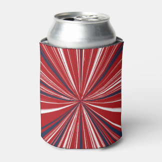 3-D explosion in Patriotic Colors Can Cooler