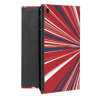 3-D explosion in Patriotic Colors Case For iPad Mini
