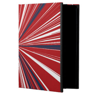 3-D explosion in Patriotic Colors iPad Air Cases