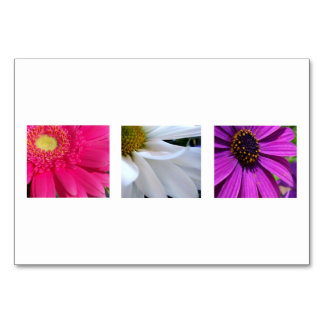 3 Daisies Table Cards