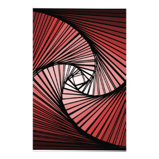 3 dimensional spiral stationery