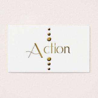 3 Dot Gold Block Action
