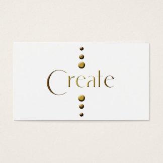 3 Dot Gold Block Create