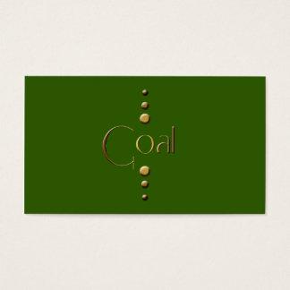 3 Dot Gold Block Goal & Green Background