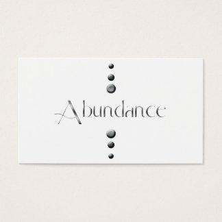 3 Dot Silver Block Abundance