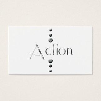 3 Dot Silver Block Action