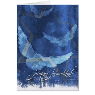 3 Doves-Hanukkah Card