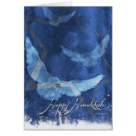 3 Doves-Hanukkah Greeting Cards