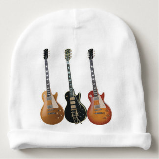 3 ELECTRIC GUITARS BABY BEANIE