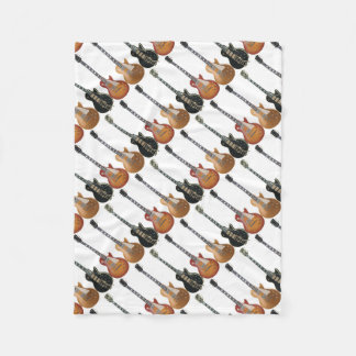 3 ELECTRIC GUITARS FLEECE BLANKET