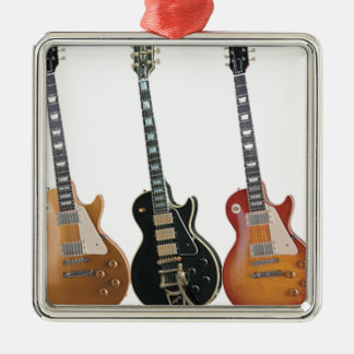 3 ELECTRIC GUITARS METAL ORNAMENT